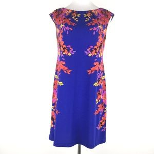 London Times Size 10P Sleeveless Floral Dress
